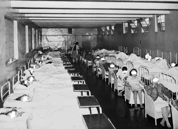 Image result for image of psychiatric hospitals in the 1940s
